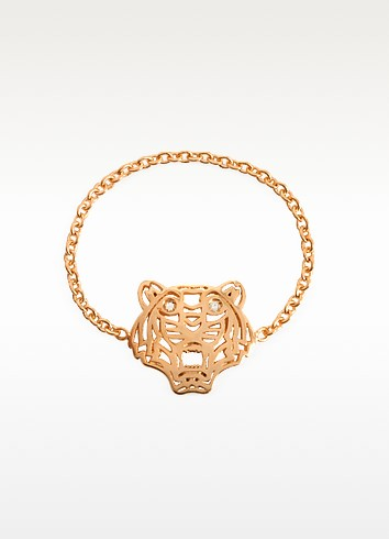 ROSE GOLD PLATED MINI TIGER RING