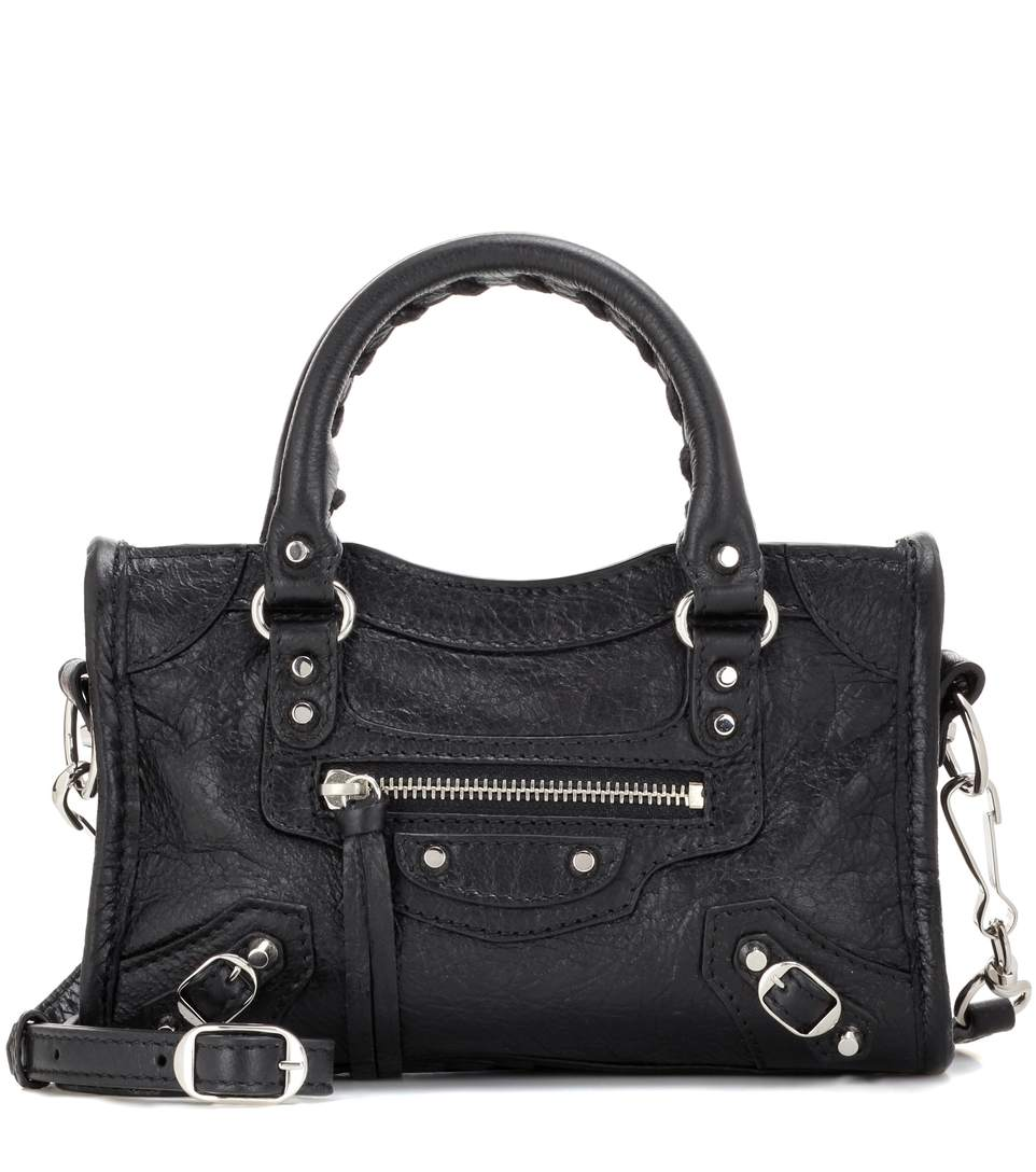 CLASSIC CITY ARENA SMALL LEATHER SHOULDER