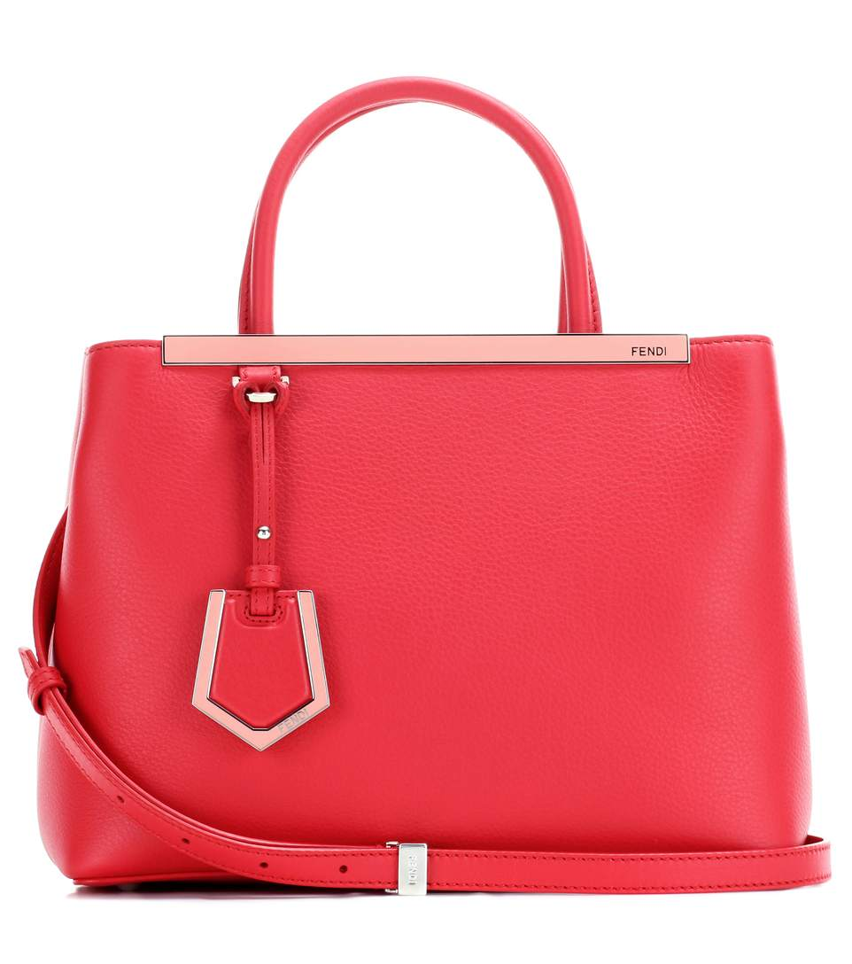 2Jours Petite leather tote