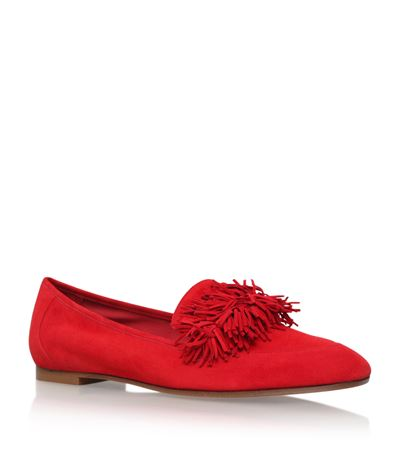 Aquazzura Suedes Wild Thing Loafers