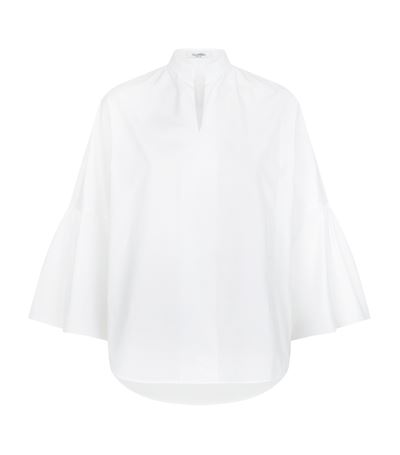 Valentino Cottons Oversized White Shirt