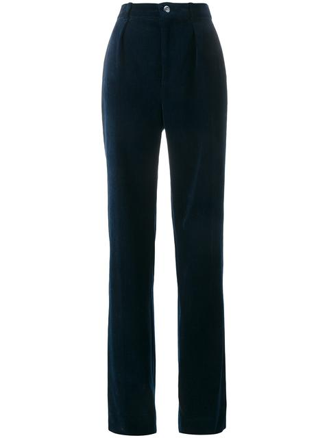 straight-leg trousers - Blue Gucci F5fkpocXN