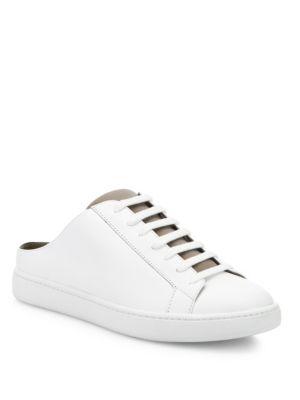 Vince Leathers Varley Leather Sneaker Slides