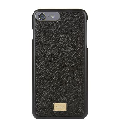 Grained Leather iPhone 7 Plus Case