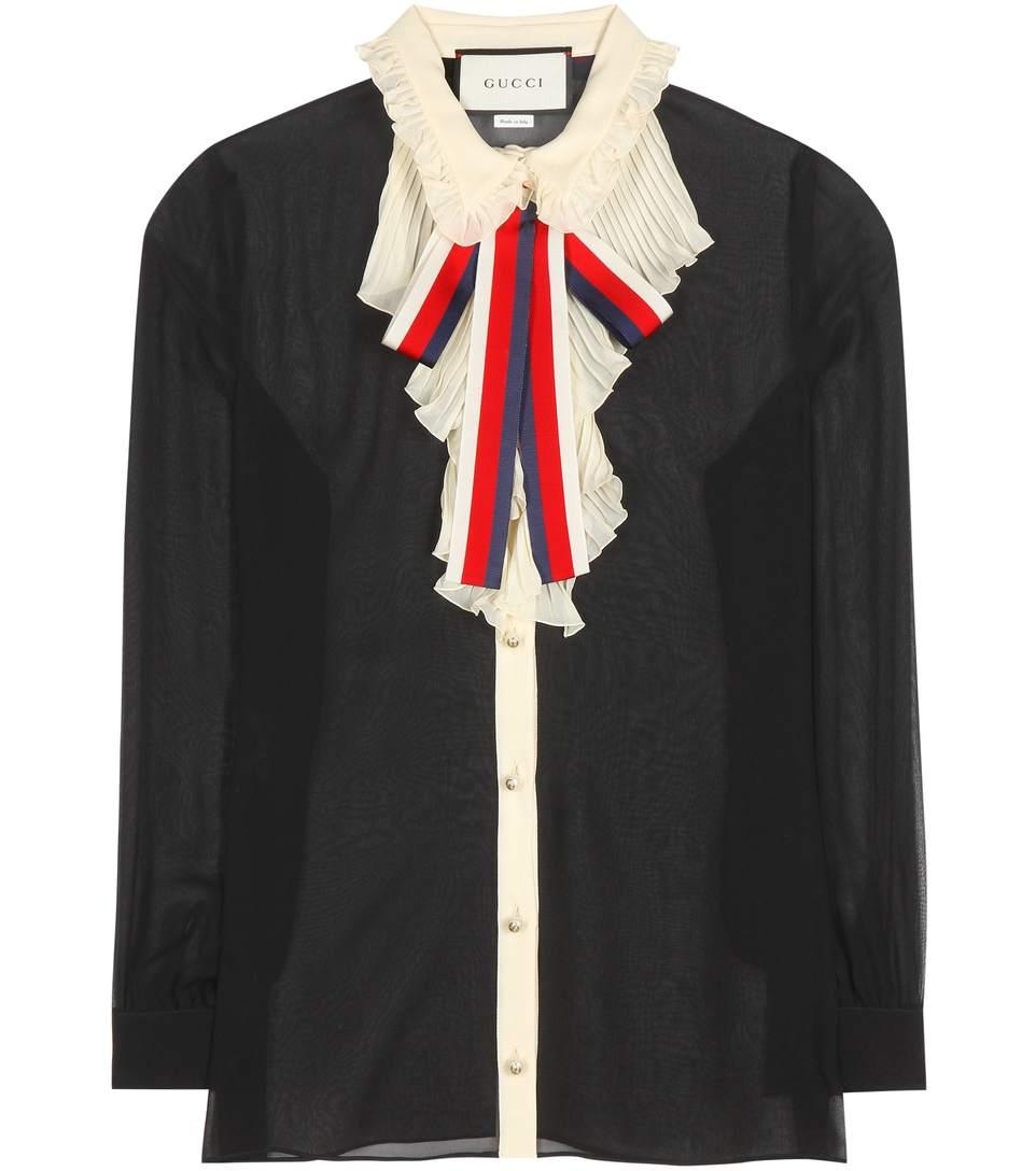 Gucci Silks Silk shirt