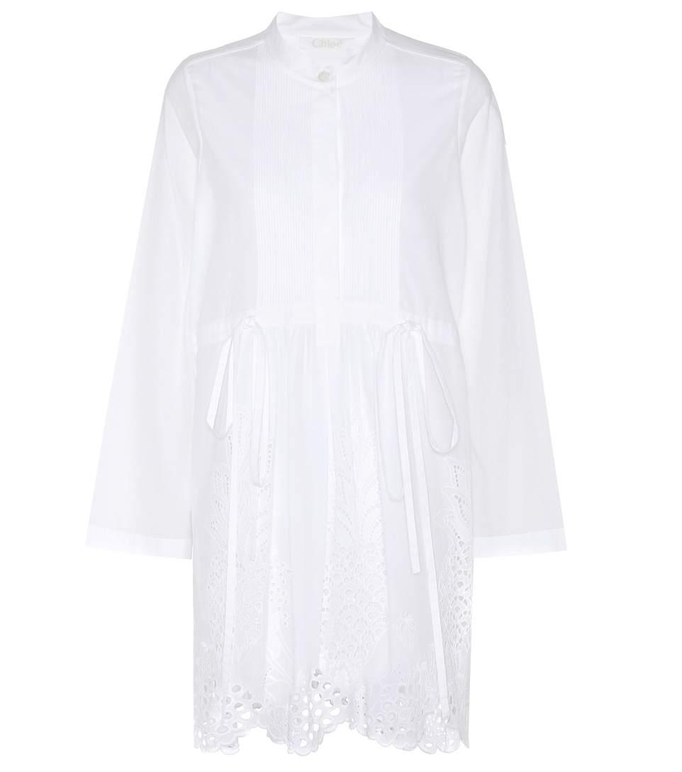 Chloé Cottons Cotton dress