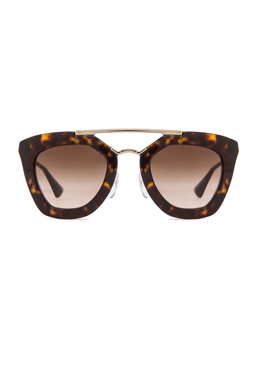 83e31250bb59 Prada Cat Eye Sunglasses White