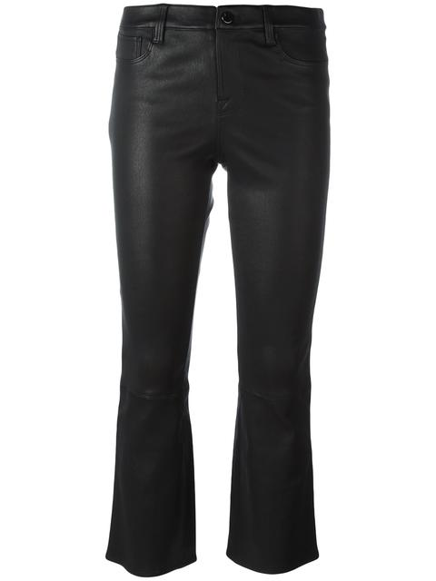 'Selena' cropped trousers