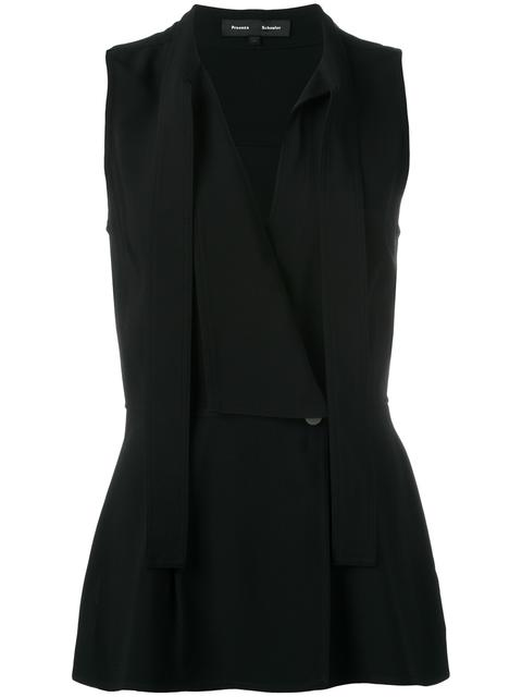 Proenza Schouler Silks BLACK
