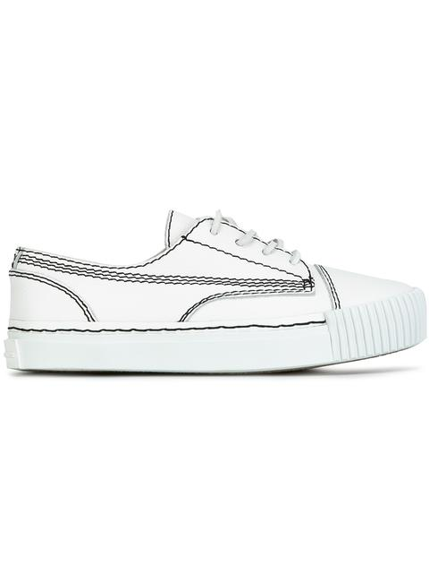 Perry Leather Low-Top Sneakers