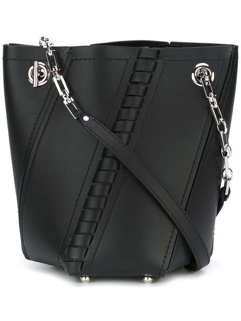 Proenza Schouler Leathers braided detail bucket bag
