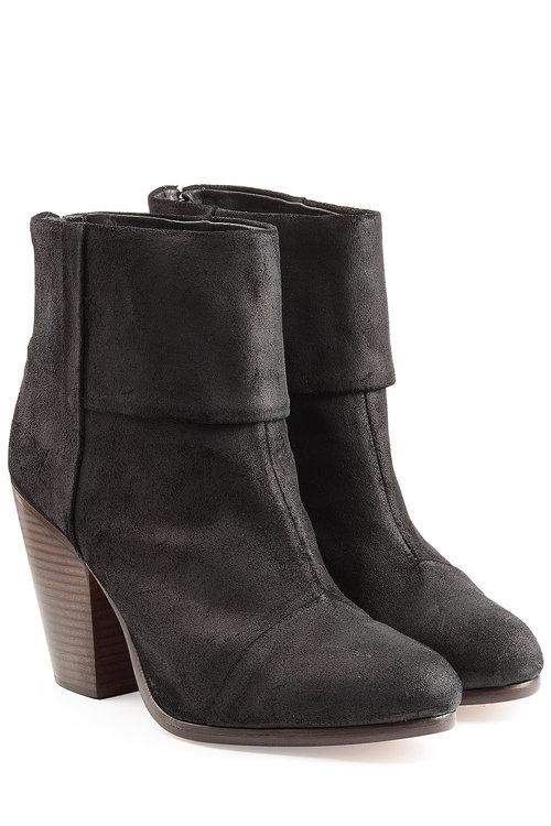 Newbury Leather Ankle Boots