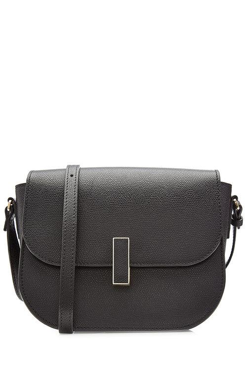 Valextra Leathers Iside Leather Shoulder Bag