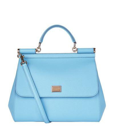 SICILY MICRO LEATHER CROSSBODY BAG, BLUE