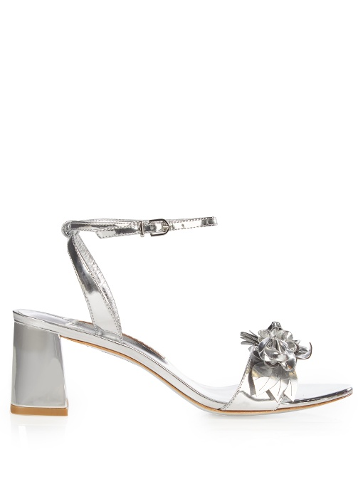 Sophia Webster Leathers Lilico patent-leather block-heel sandals