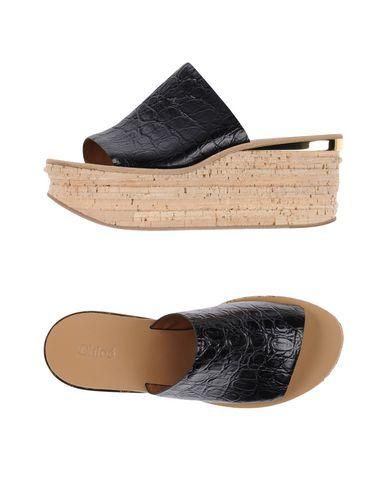 Chloé Leathers Sandals