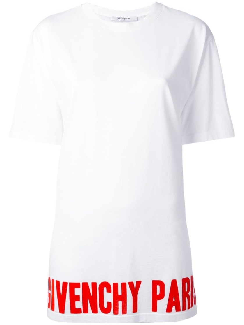 Givenchy Cottons logo print T-shirt
