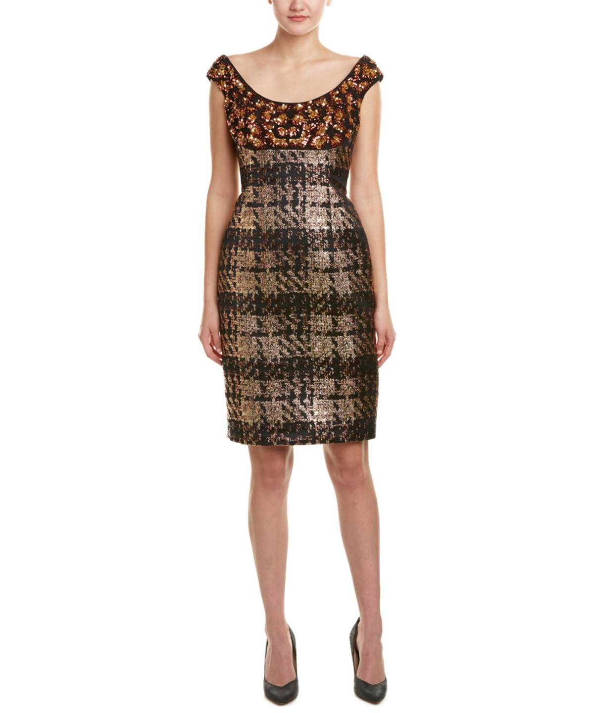ESCADA SILK-LINED SHEATH DRESS