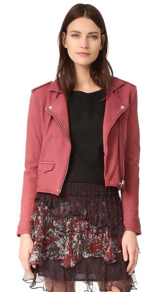 Ashville Leather Biker Jacket