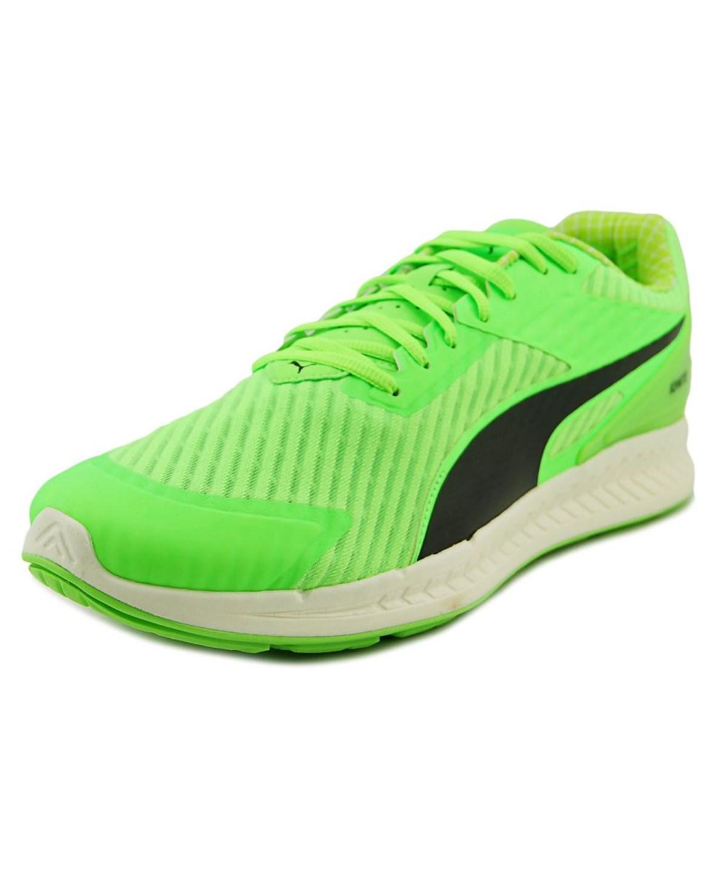 Puma Canvases Puma Ignite V2 Pwrcool   Round Toe Canvas  Running Shoe