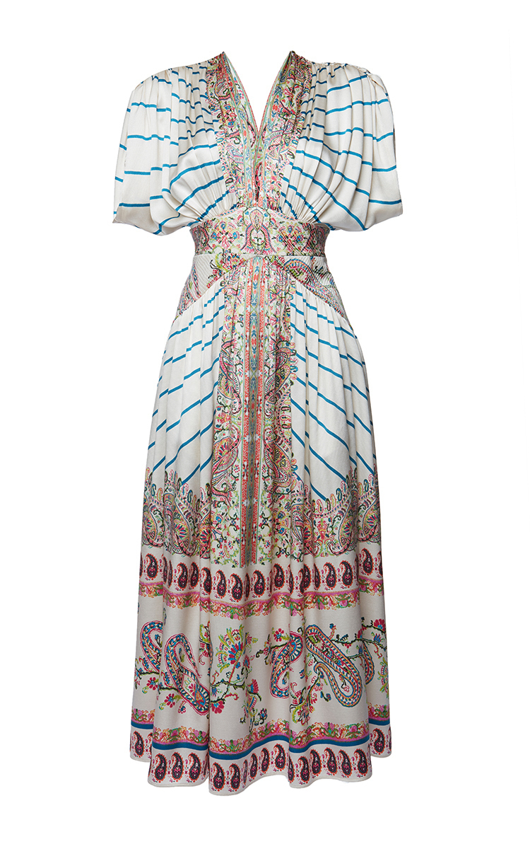 Etro Silks Jasmin Dress