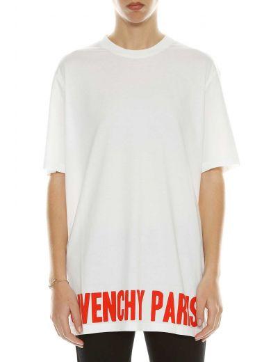 Givenchy Cottons Givenchy 'givenchy Paris' T-shirt