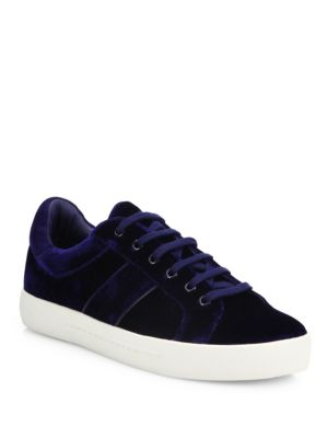 Dakota Velvet Sneakers
