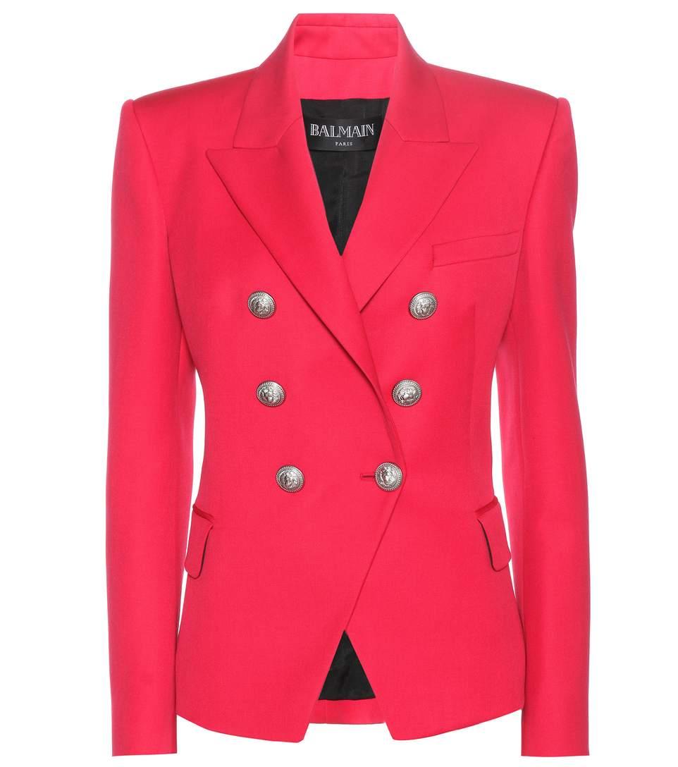 Balmain Wools Wool jacket