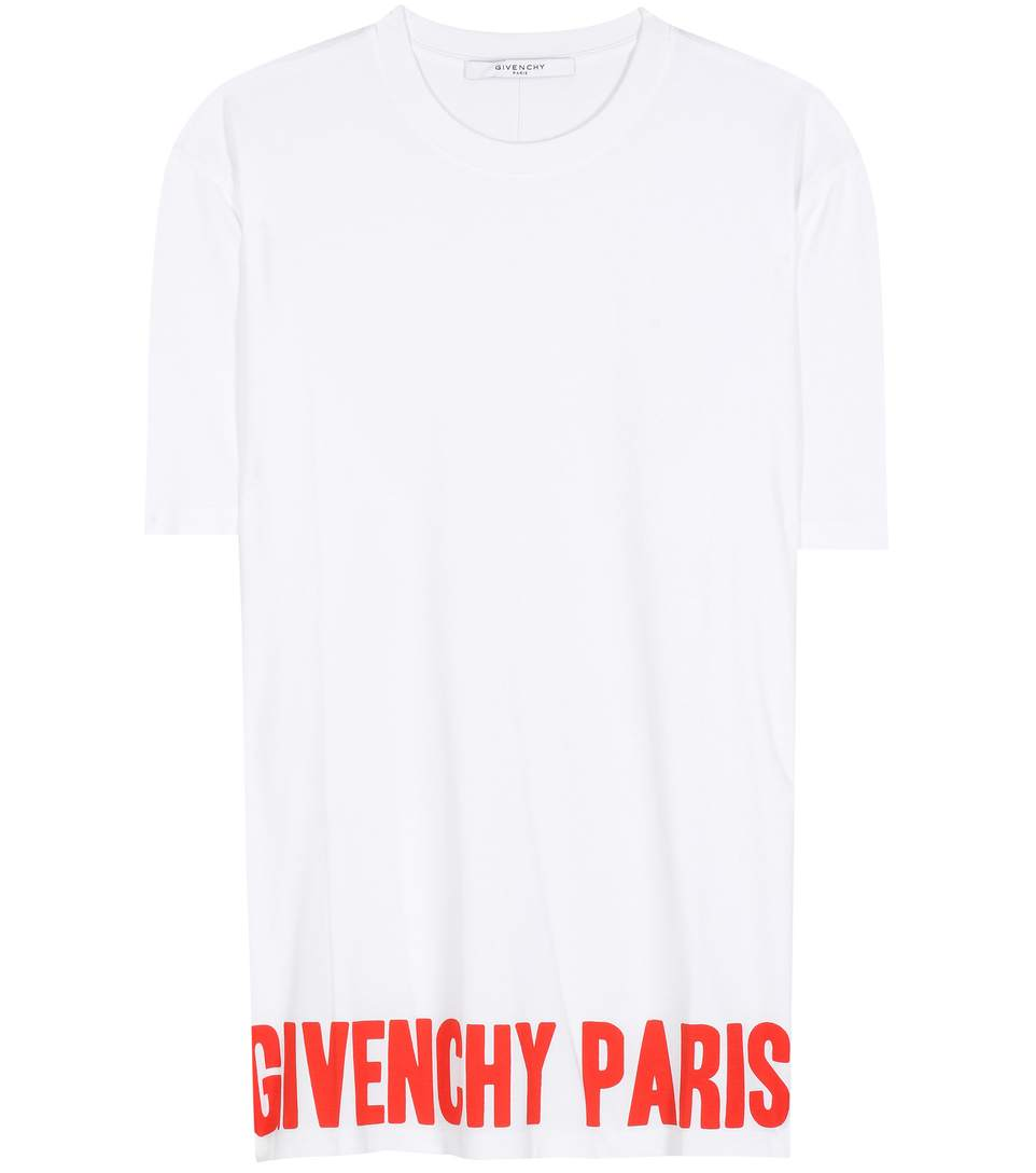 Givenchy Cottons Printed cotton T-shirt