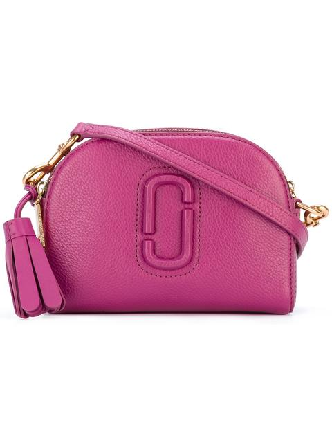 SHUTTER WILD BERRY LEATHER SMALL CAMERA BAG