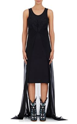 Layered Fitted Dress