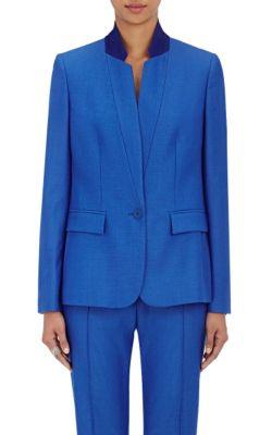 Stella Mccartney Wools Fleur Wool Single-Button Jacket