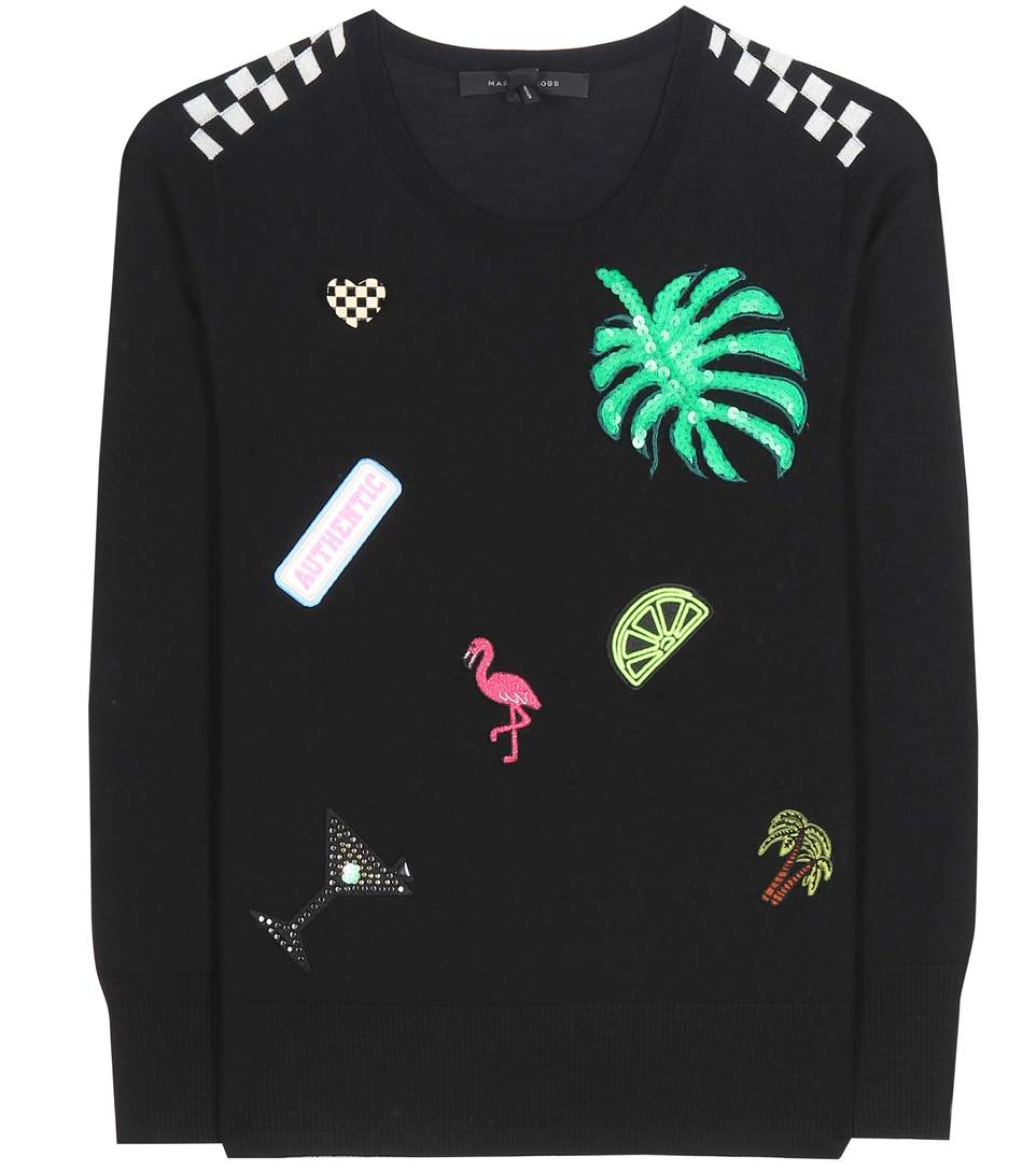 Marc Jacobs Wools Embellished wool sweater