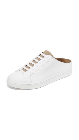 Vince Leathers Varley Cutaway Back Sneakers