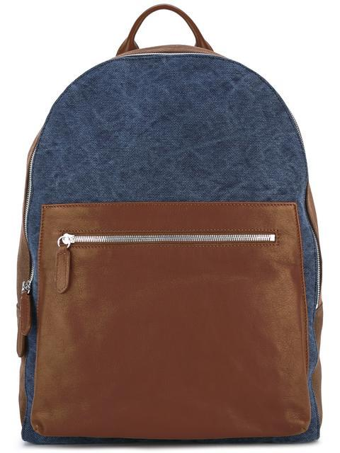 Eleventy Leathers leather backpack