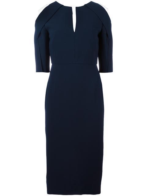 Roland Mouret Silks 'Keeling' dress