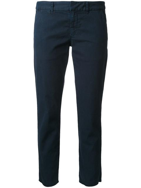 'East Hampton' cropped trousers