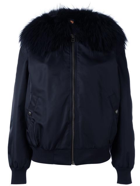 oversized bomber jacket