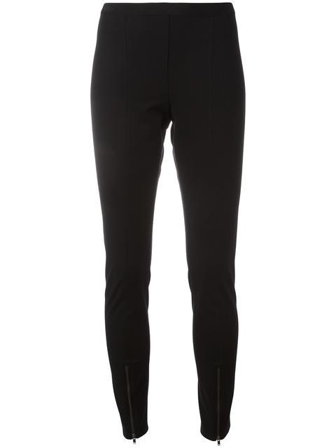 zipped detailing leggings