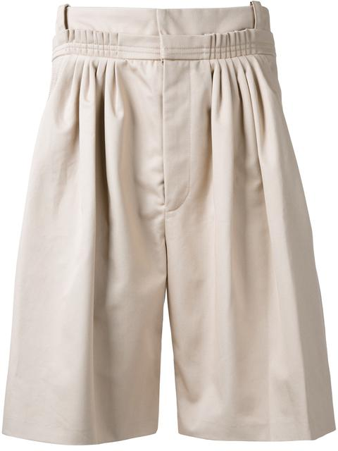 J W Anderson Pleated Bermuda Shorts Modesens