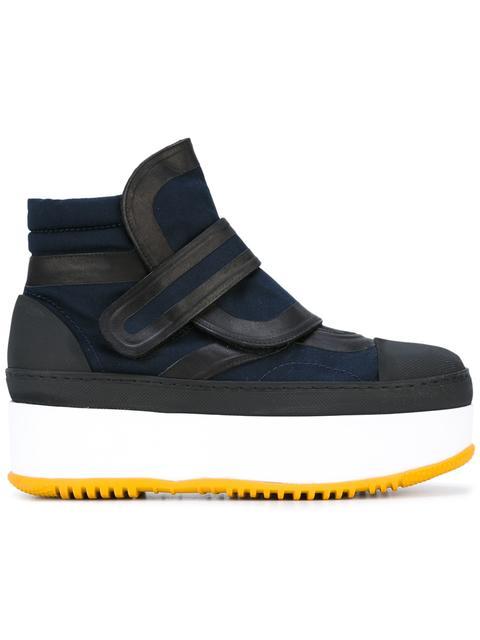 Marni Leathers hi-top sneaker boots
