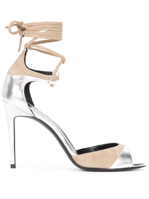 Pierre Hardy Metallic Ankle Strap Sandals outlet low price fee shipping cheap sale exclusive eastbay free shipping deals new styles DShKWXq