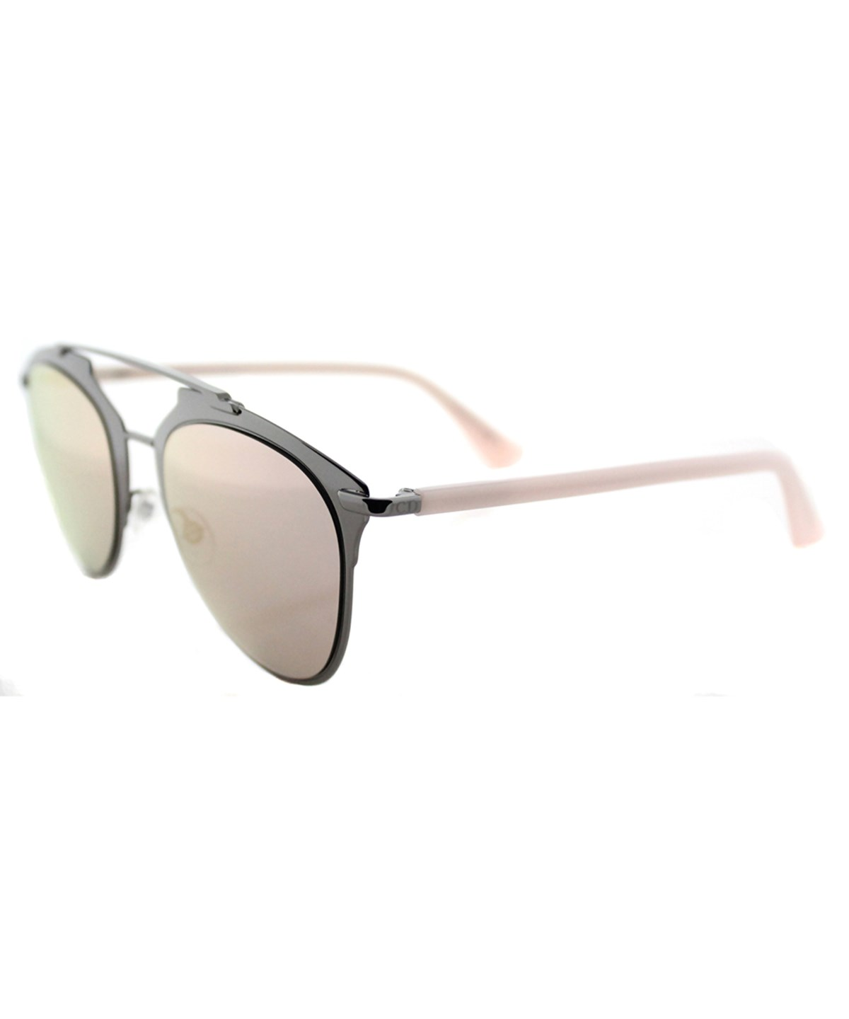 REFLECTED AVIATOR METAL SUNGLASSES'
