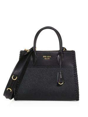 Paradigme saffiano leather handbag