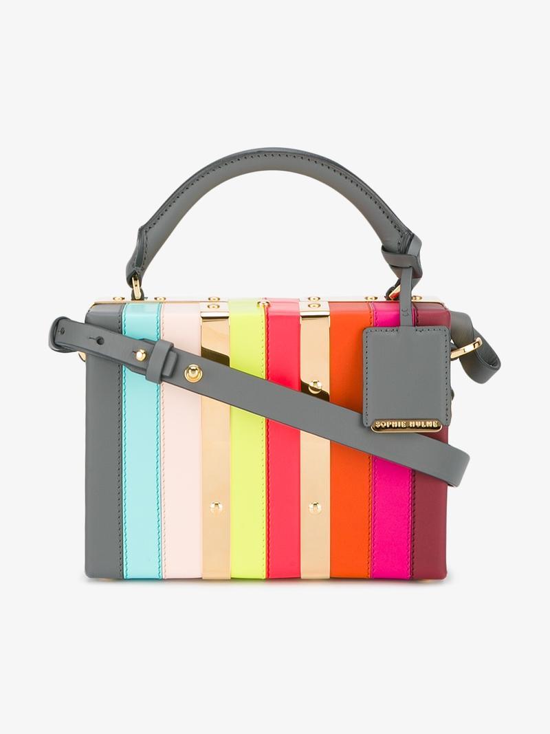 Mini Albany Suitcase Shoulder Bag