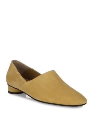 The Row Suedes Noelle Kid Suede Loafers