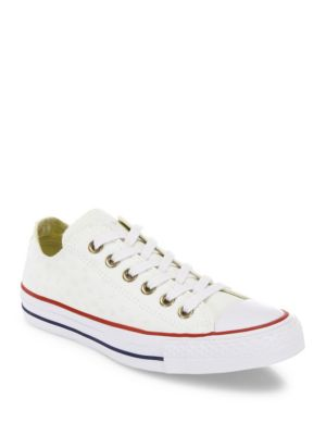 Converse Canvases Chuck Taylor All-Star Star-Embroidered Low-Top Sneakers