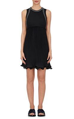 3.1 Phillip Lim Silks Silk-Blend Sleeveless Dress