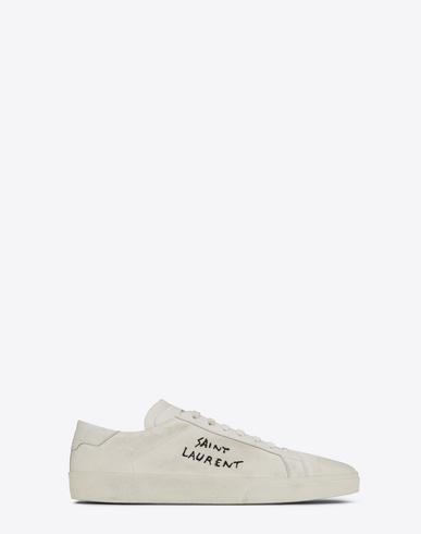 Saint Laurent Signature Court Classic sneakers p65jDR