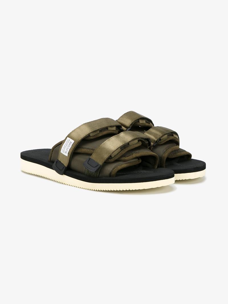 'MOTO' slide sandals